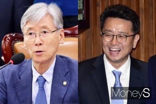 여상규 위원장과 이철희 의원(오른쪽). /사진=머니S DB