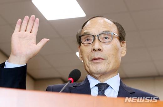 김형갑 웅동학원 이사. /사진=뉴시스