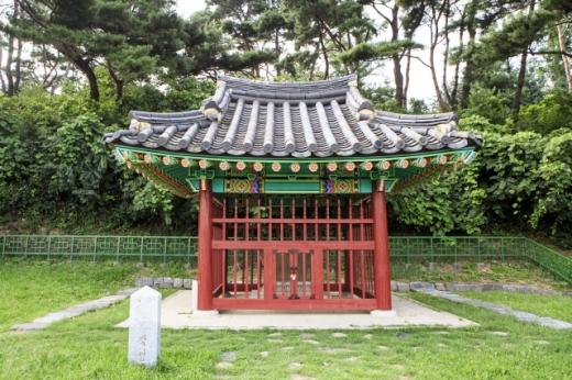 단양팔경휴게소(춘천방향) 단양신라적성비. /사진=한국관광공사