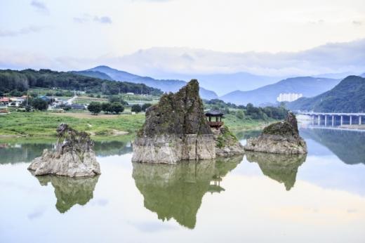 도담삼봉. /사진=한국관광공사
