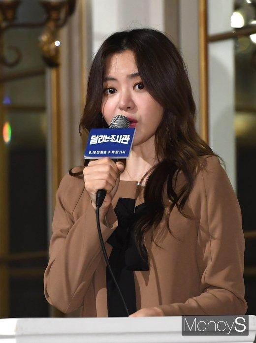 [머니S포토] 서유리, 최병길 PD와 결혼후 첫 공식석상