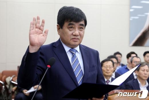 한상혁 신임 방송통신위원장. /사진=뉴스1 임세영 기자