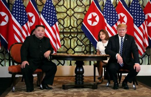 김정은 북한 국무위원장(왼쪽) 트럼프 미국 대통령. /사진=로이터