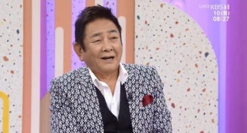 방송인 허참. /사진=KBS 1TV '아침마당' 방송화면 캡처