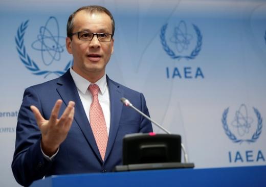 코넬 페루타 국제원자력기구(IAEA) 총장대행. /사진=로이터