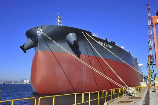 32만톤급 초대형원유운반선(VLCC). /사진=현대중공업