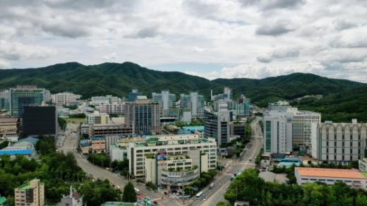 성남 하이테크밸리 전경. / 사진제공=성남시