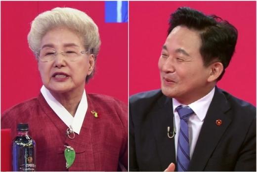 심영순 요리원구원장, 원희룡 제주도지사. /사진=KBS2 '사장님 귀는 당나귀 귀' 방송화면 캡처