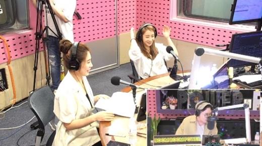 안소미와 김소유가 SBS 파워FM '붐붐파워'에 출연했다. /사진=SBS 파워FM '붐붐파워' 보이는 라디오 캡처