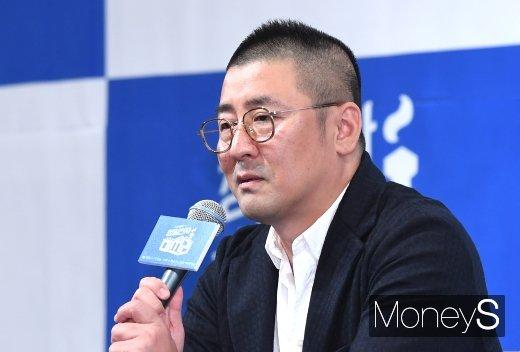 [머니S포토] '청일전자 미쓰리'의 한동화 감독