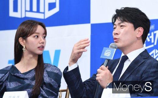 """[머니S포토] 김상경 """"혜리 하품할 때 목젖 많이봐"""""""