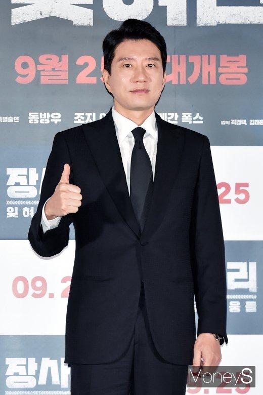 """[머니S포토] 배우 김명민, """"장사리 학도병, 이제 기억해줬으면"""""""