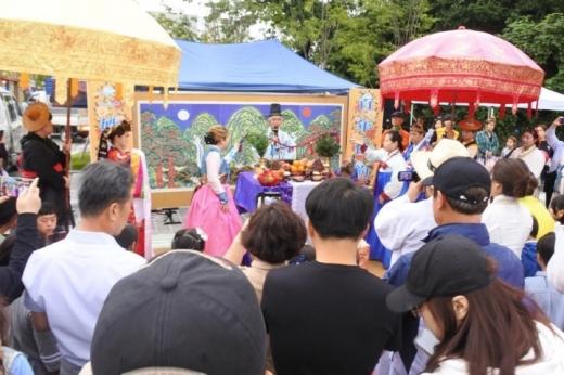 남양읍 청사초롱 축제 모습. / 사진제공=화성시