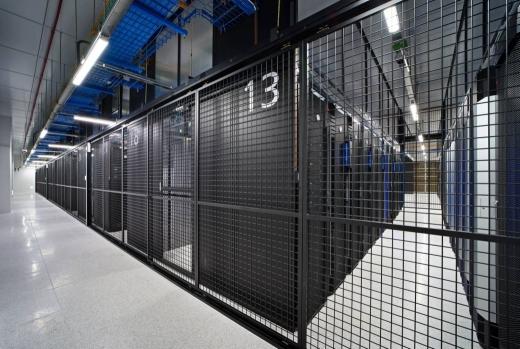 삼성SDS 춘천 데이터센터 서버룸. /사진=삼성SDS