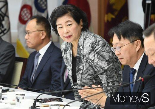 [머니S포토] '김현준 국세청장 초청 간담회' 참석한 현정은 현대그룹 회장