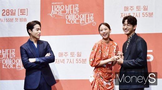 [머니S포토] 오민석·조윤희·윤박, 삼각관계 예고