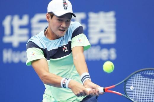 한국 테니스의 기대주 권순우. /사진=주하이 챔피언십 공식 트위터