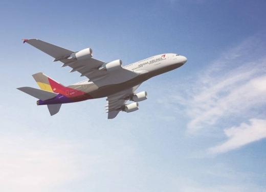 아시아나항공기. /사진=아시아나항공 제공