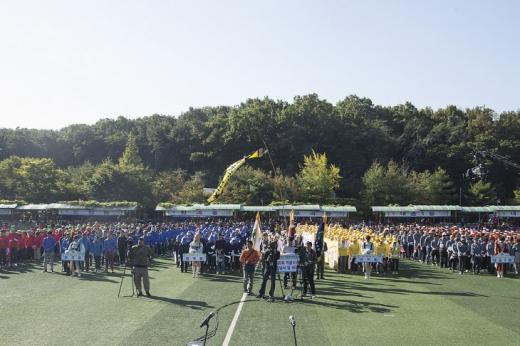 시승격 30주년 기념행사(2018년 시민의 날 행사). / 사진제공=의왕시