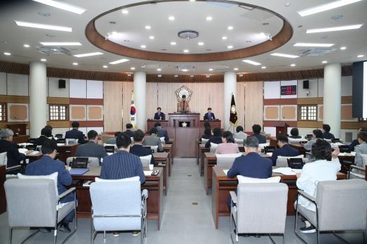 고양시의회 본회의 모습. / 사진제공=고양시의회