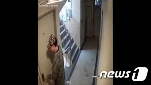 신림동사건 범행 현장. /사진=뉴스1 (CCTV 캡처)