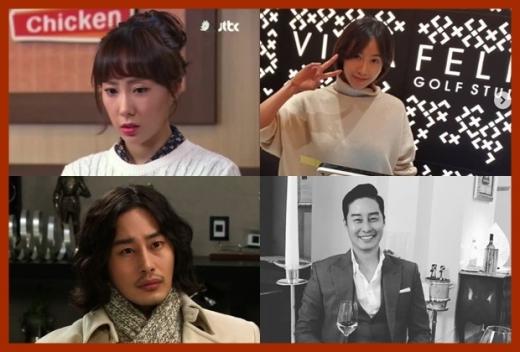 육혜승 이필립. /사진=JTBC, SBS 방송캡처, 육혜승 이필립 인스타그램