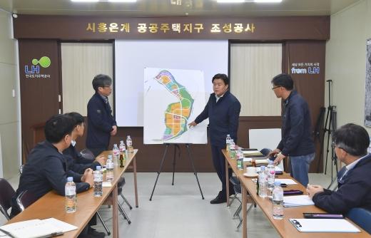 """임병택 시흥시장 """"은계호수공원 조속히 완공"""""""