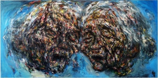 권순철 부부, Oil on canvas, 200x400cm, 2007-2015. / 사진제공=양주시