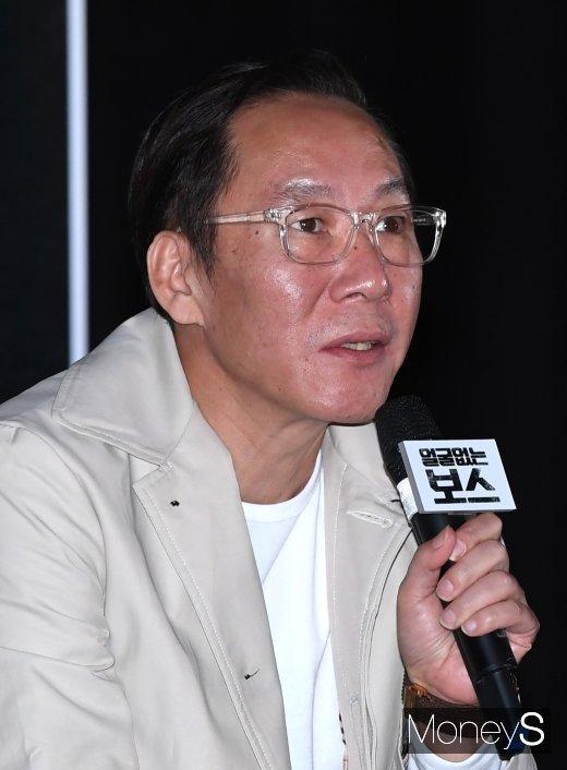 [머니S포토] 영화 '얼굴없는 보스'의 송창용 감독