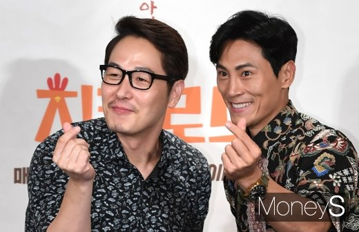 [머니S포토] 김풍·김재우 '치킨로드 사랑해주세요'
