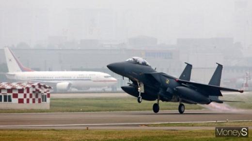 우리 공군 주력 전투기인 F-15K. /사진=임한별 기자