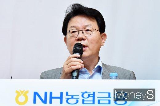 김광수 NH농협금융지주 회장/사진=임한별 기자