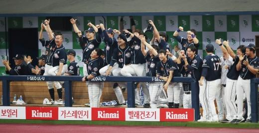 두산 베어스가 2019 한국시리즈에서 우승을 차지했다. /사진=뉴시스 김진아 기자