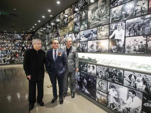 지난달 23일 한국영화 100주년을 기념해 단성사 영화역사관이 개관했다 / 사진=뉴시스 조수정 기자