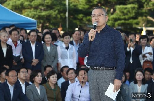 황교안 자유한국당 대표. /사진=임한별 기자