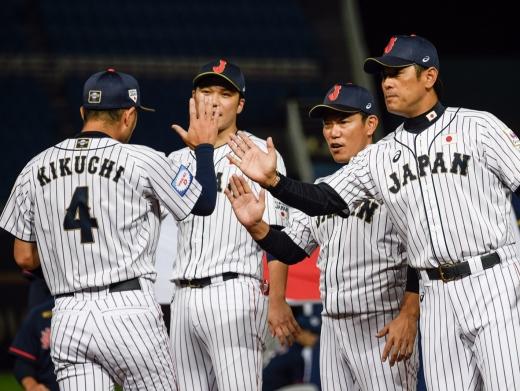 일본 야구대표팀. /사진=프리미어12 홈페이지 캡처