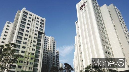 서울시내 한 힐스테이트 아파트. /사진=김창성 기자