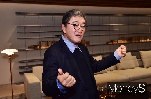 """[머니S포토] 이영식 한샘 부회장 """"세계 인테리어 시장으로 진출할 것"""""""