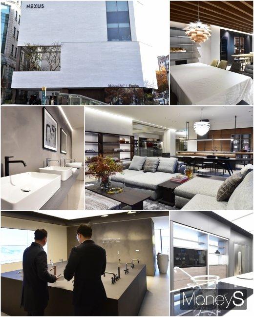 [머니S포토] 한샘 넥서스 플래그십 오픈, 하이앤드 라이프 스타일을 반영하다