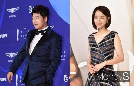 방송인 전현무(왼쪽)와 배우 신혜선. /사진=머니S DB