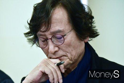 [머니S포토] 정지영 감독, 스크린 독과점 해소 촉구