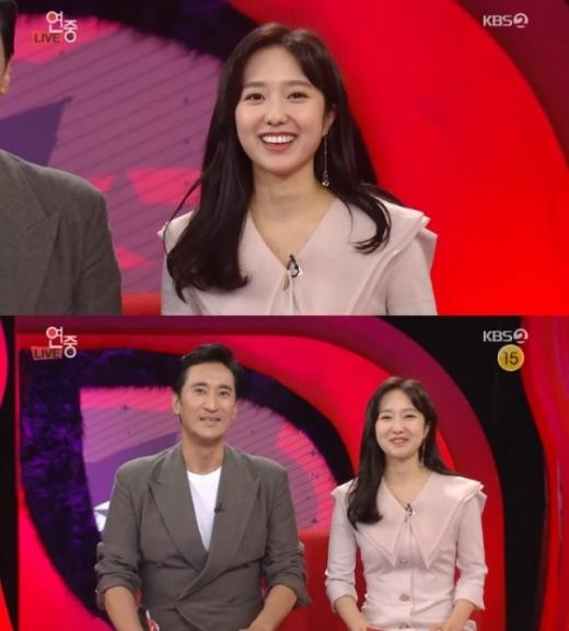 이혜성 전현무. /사진=연예가중계 방송캡처