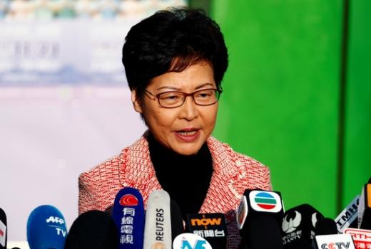 캐리 람 홍콩 행정장관. /사진=로이터