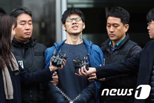 PC방 아르바이트생을 살해한 혐의로 징역 30년을 선고받은 김성수(30). /뉴스1