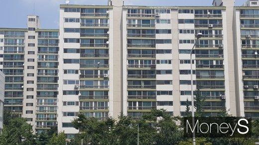 수도권의 한 아파트 단지. /사진=김창성 기자