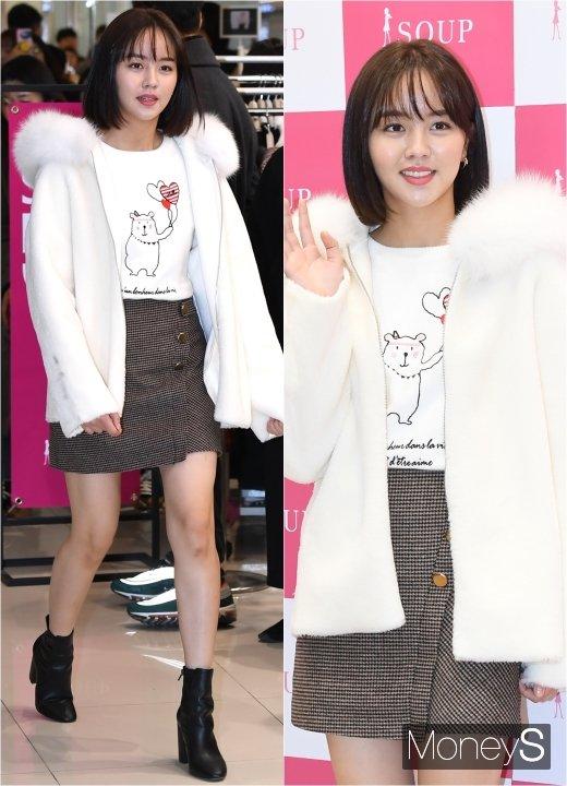 [머니S포토] 김소현 '주말에도 미모가 반짝반짝'