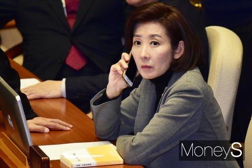 나경원 자유한국당 원내대표./사진=임한별 기자