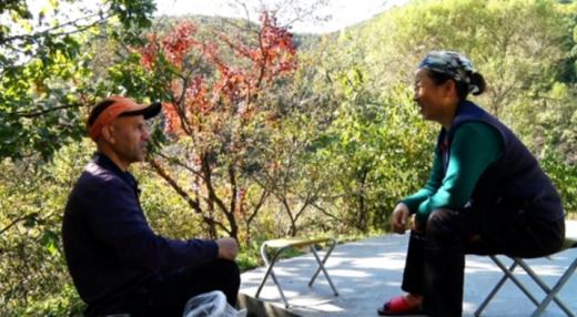 박현민씨(왼쪽)와 신화선씨. /사진=KBS '인간극장' 방송화면 캡처