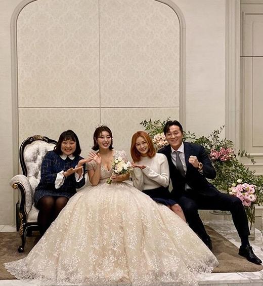 나비 결혼. /사진=송다은 인스타그램 캡처