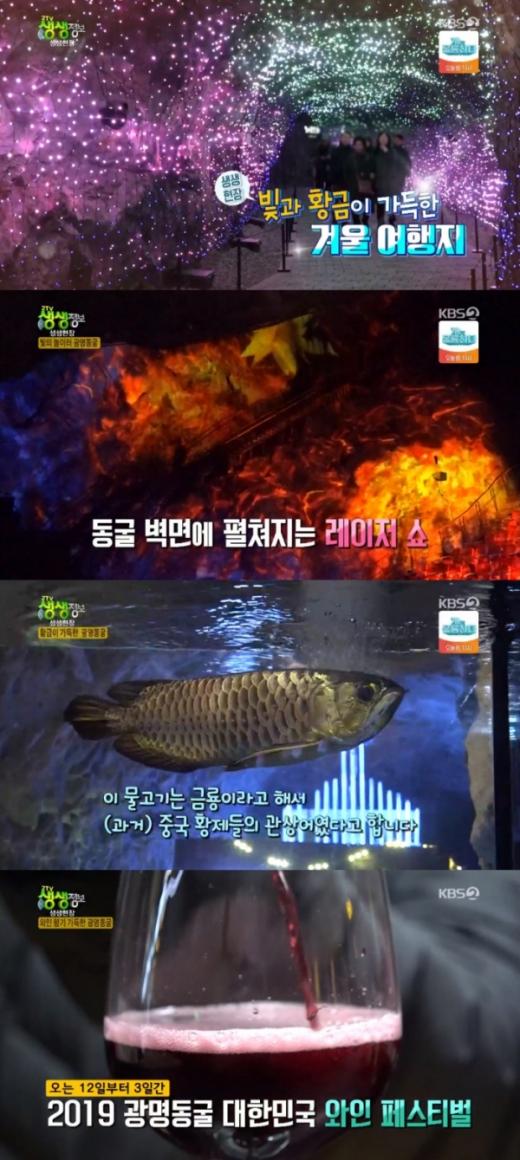 광명동굴. / 사진=KBS2 '2TV 생생정보' 방송화면 캡처